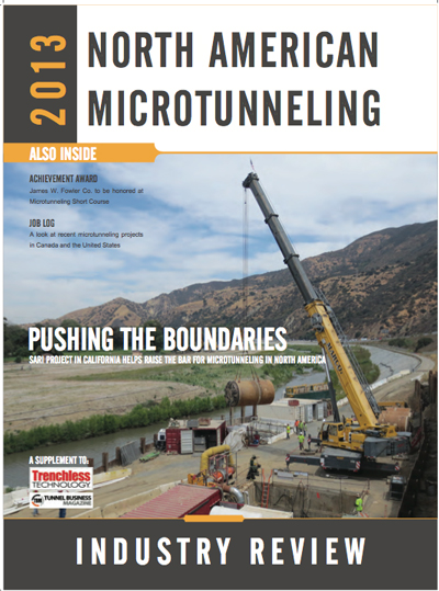 2013 North American Microtunneling Supplemt