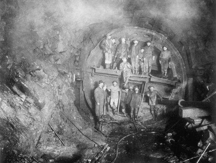 The Industrial Era of Tunneling