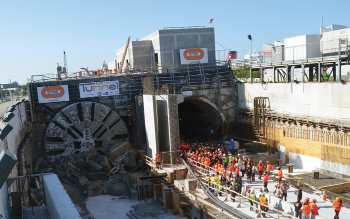 Innovative Port of Miami Tunnel Reaches Completion