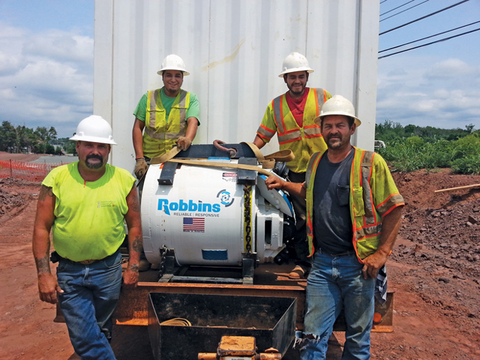 Virginia Contractor Uses SBU for Challenging Tunnel Project