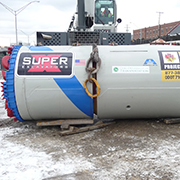 Super Excavators' Microtunnel Project Wins Award