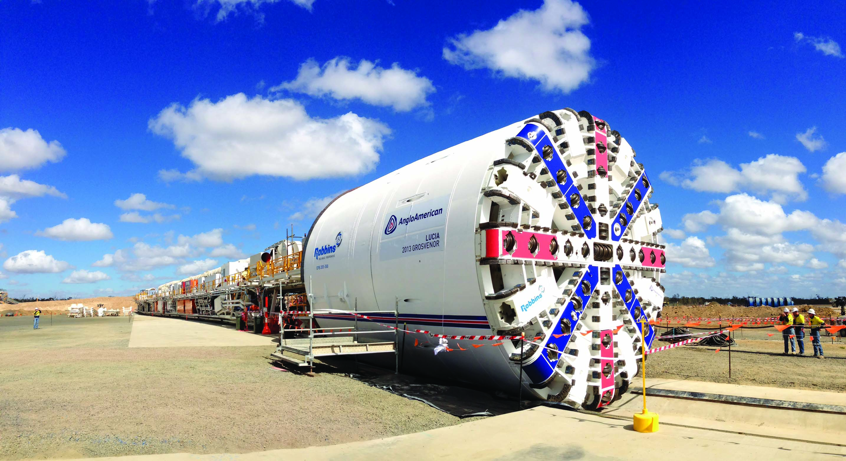 : The Robbins Crossover (XRE) TBM pictured here is at the forefront of a trend for efficient machines that can operate in mixed ground conditions.