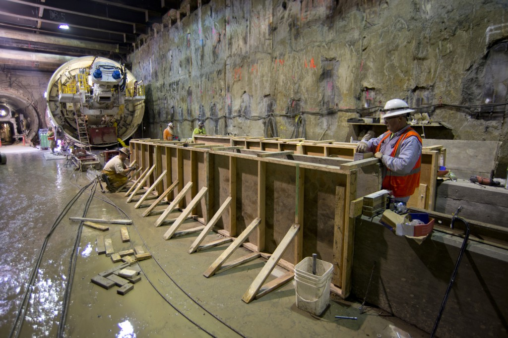 Salini Impregilo Completes Tunnel for San Francisco Subway1