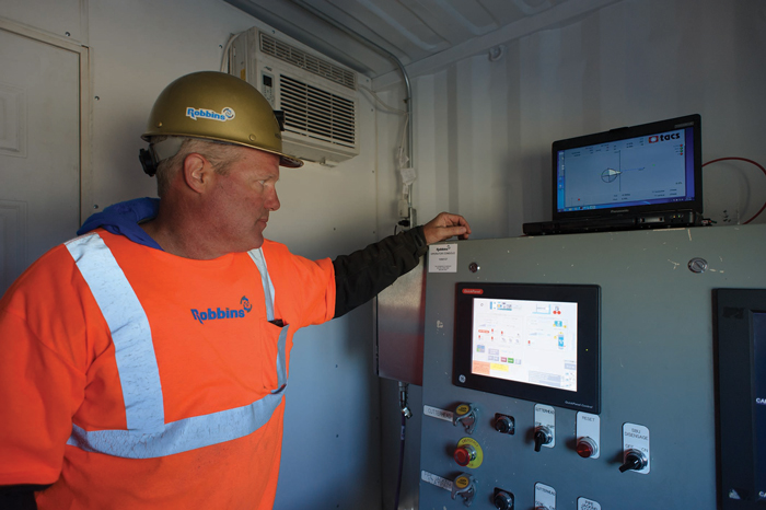 Equipped with a smart guidance system by TACS