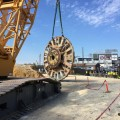TBM Emerges after Completing Blue Plains Tunnel for DC Water