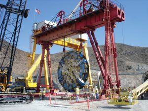 VTC used a Herrenknecht dual-mode TBM, which was subjected to a world-record 15 bar of pressure while boring under the lake.