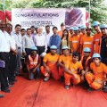 Bangalore Fanfare Marks Final Breakthrough for Robbins EPB