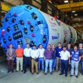 Robbins Double Shield Digs in Chile