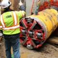 Innovative Solutions Help Complete Tricky Microtunneling Project Under Belt Parkway