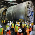 LA Metro Celebrates End of Tunneling on Crenshaw/LAX