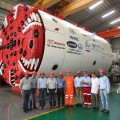 TERRATEC Delivers First of 7 TBMs for Mumbai Metro
