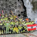 Skanska-Strabag Team Breaks Through in Norway's Ulriken Tunnel