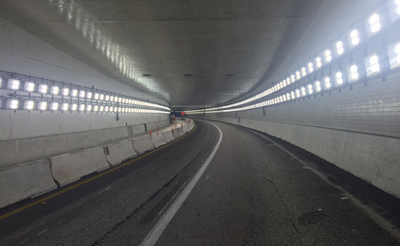 Well-designed tunnel lighting systems