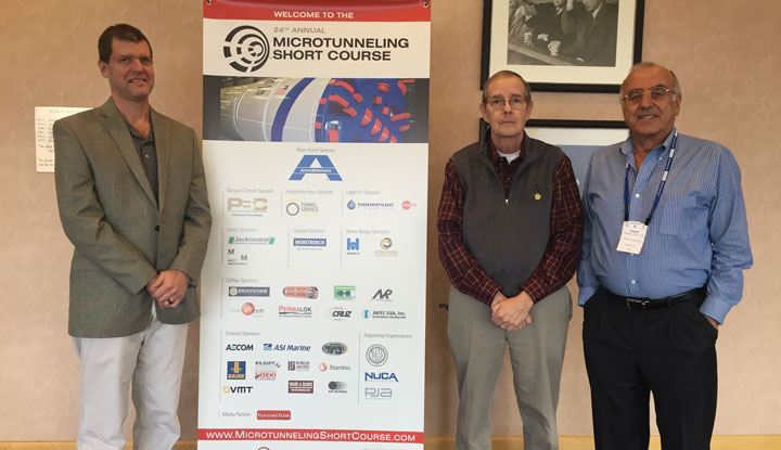 Microtunneling Short Course organizers