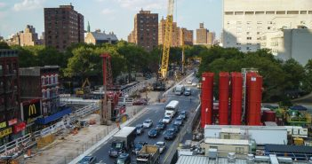 The Second Avenue Subway project