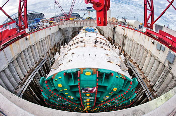 Moving Center >> Moving Bertha—Barnhart Lifts The World's Largest TBM in Seattle - Tunnel Business Magazine
