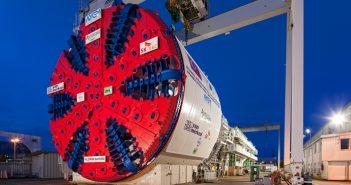 13.6-m diameter Herrenknecht Mixshield