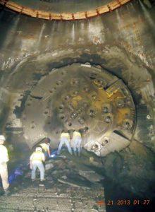 Euclid Creek Tunnel Mining