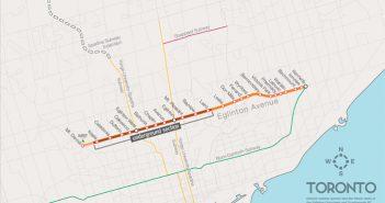 Metrolinx Eglinton Crosstown map