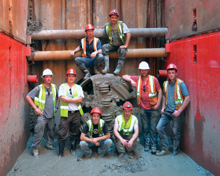 advancing microtunneling