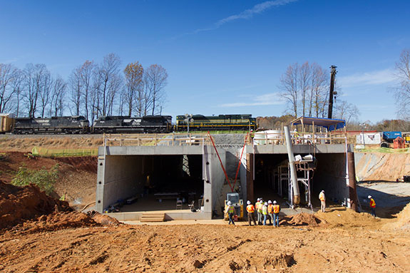 Liberty University Vehicular Tunnel Project Complete