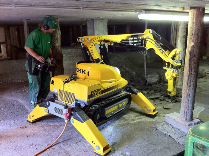 Brokk Introduces Next Generation Remote Controlled
