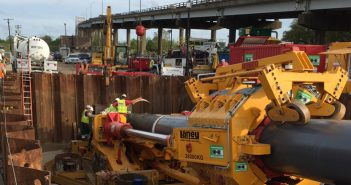 Laney Completes Record Direct Pipe Installation