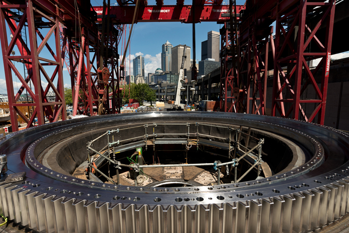 new schedule submitted for sr 99 project  tunneling to