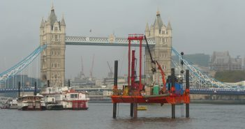 AECOM to Design Largest Stretch of London's Super Sewer