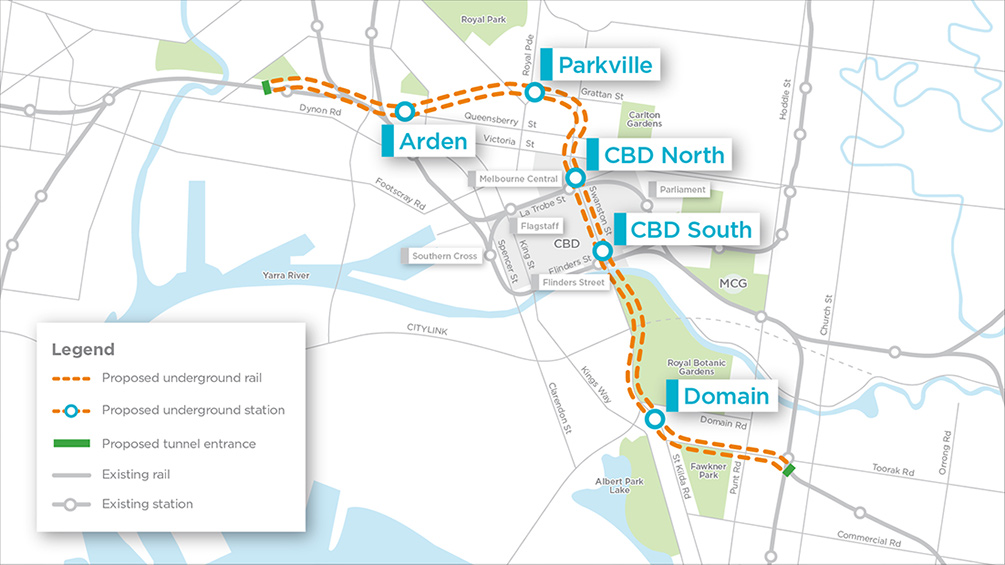 Tender Process Begins for Melbourne Metro Tunnel
