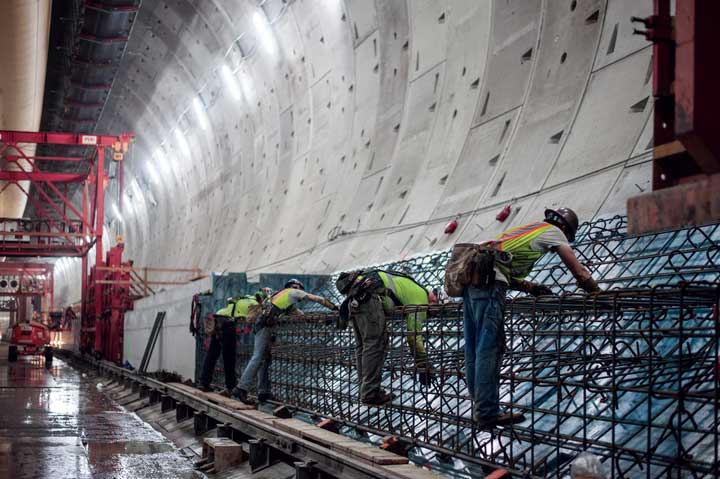 SR 99 Tunnel Reaches Substantial Completion