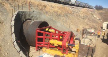 tunneling under railway
