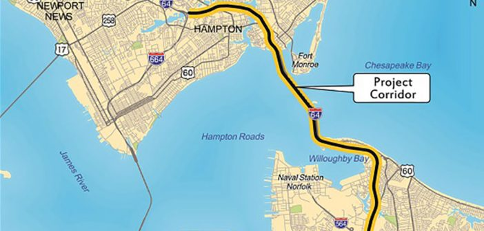 Contract Procurement Begins for Hampton Roads Bridge-Tunnel