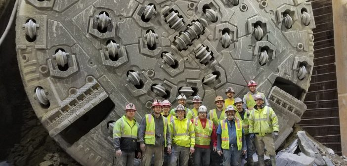 Dugway Storage Tunnel Marks Breakthrough