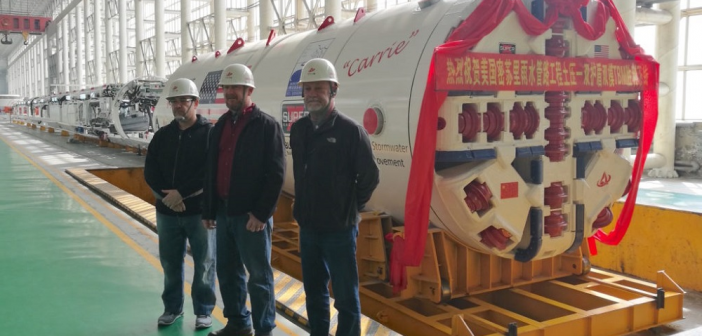 Two New LOVSUNS TBMs Heading to North America