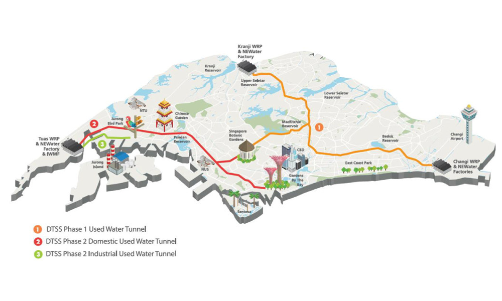COWI Wins Singapore Super Sewer Design Contract