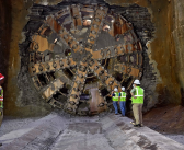 Akron TBM 'Rosie' Completes Journey with Breakthrough Party