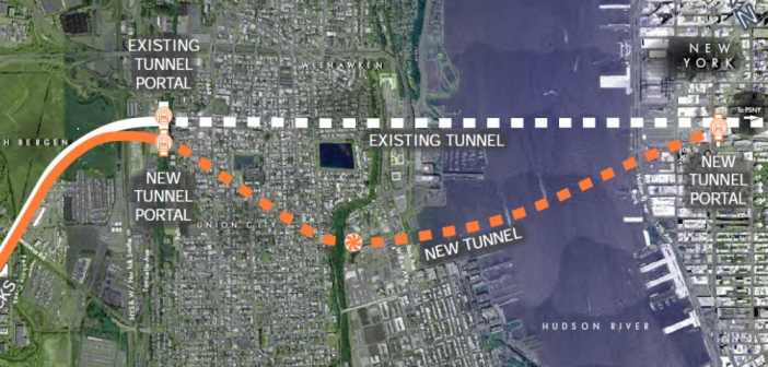 Gateway Development Corp. Releases Animations of Completed Portal North Bridge and Hudson River Tunnel