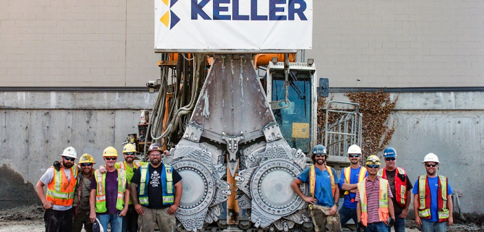 Keller Completes Its First Cutter Soil Mixing Project in Canada