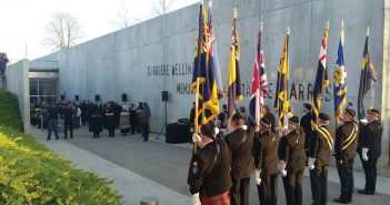 remembrance ceremony of the Battle of Arras