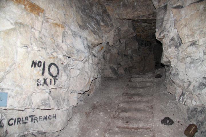 subterranean passage