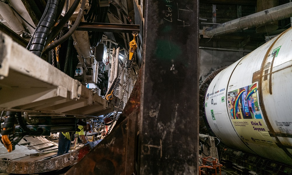 Tunneling for LA's Purple Line Extension Officially Begins
