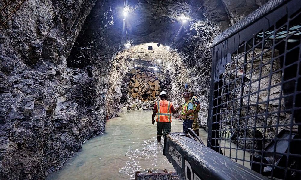 Robbins Tbm Breaks Through On Atlanta Water Tunnel Project