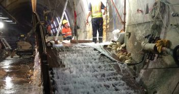 Controlling Water for Cross Passage Excavation