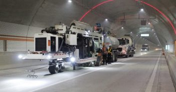 Pavement Surface an Important Consideration in Korea's Long Tunnels