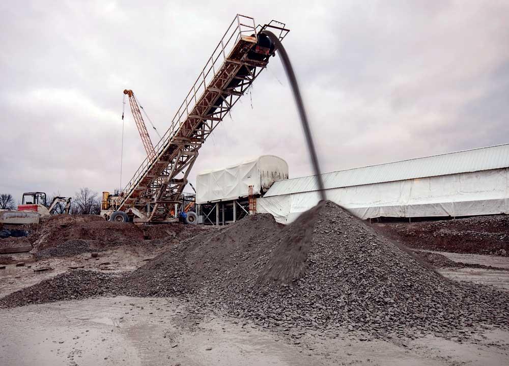 Robbins continuous conveyor system