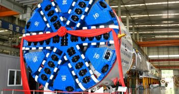 CREG Hosts Ceremony for First EPB TBM for Guiyang Metro