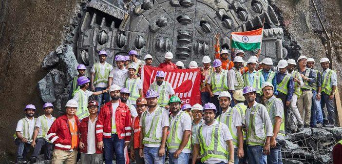 TERRATEC TBM Completes First Tunnel for Mumbai Metro