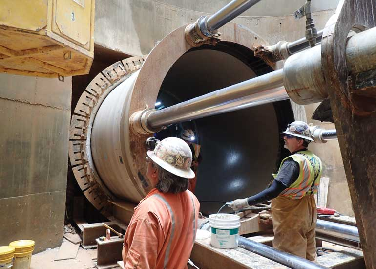 this 7-mile tunnel segment reduces combined sewer overflows