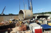Hobas supplied 120-inch, 1765-ton jacking pipe